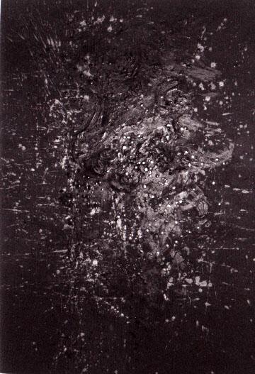 En recherche perpétuelle dans sa peinture actuelle, Françoise Kadar